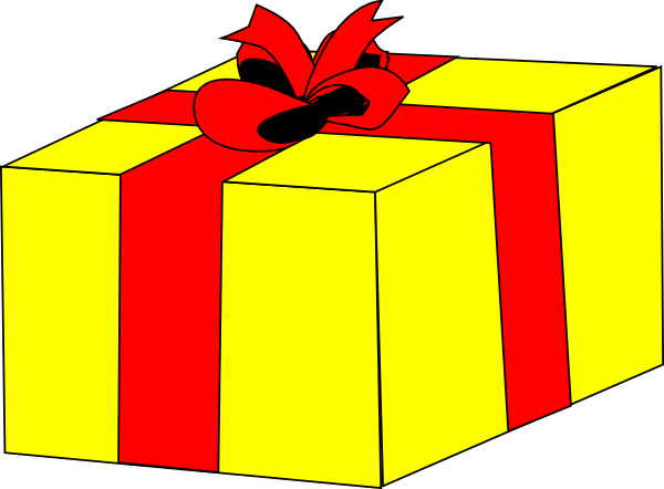 Happy Birthday Present Clipart Free