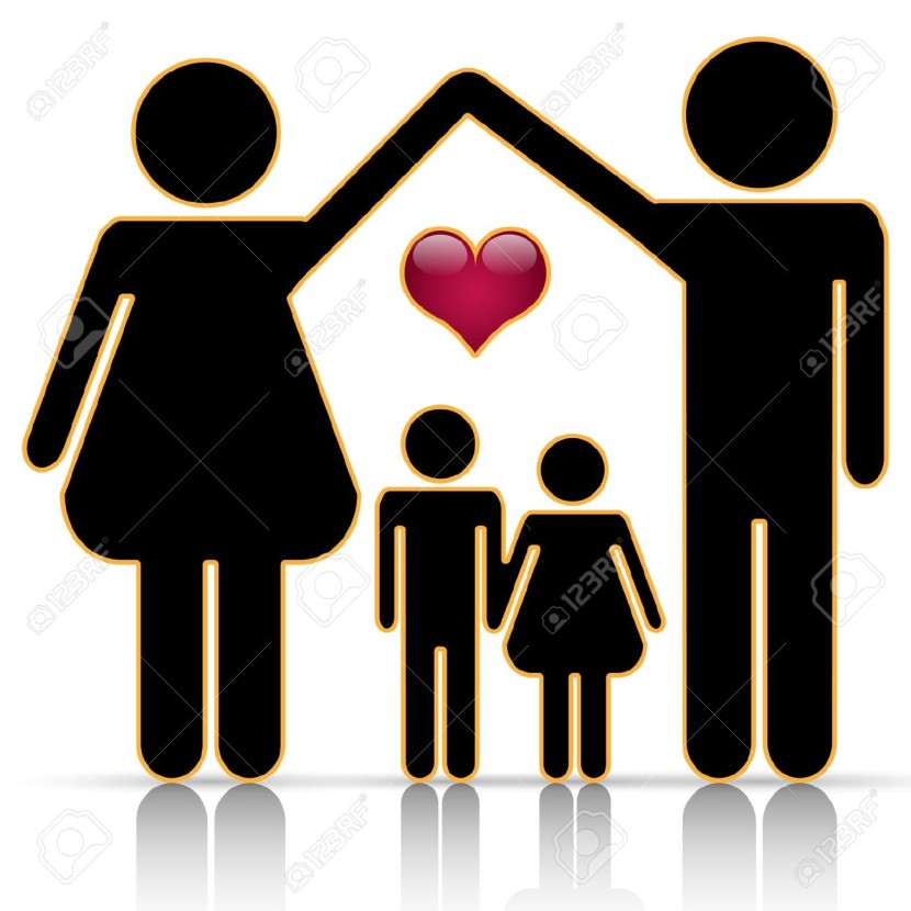 Happy Black Family Clipart Photos And Wallpapers Responsive