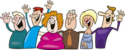 Happy People Stock Illustrations Vectors Clipart