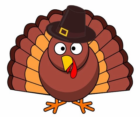 Happy Thanksgiving Turkey Clipart Black And White