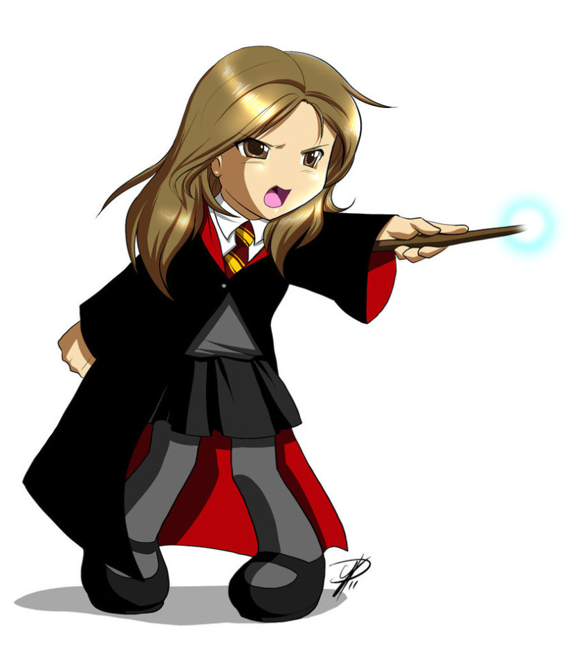 Harry Potter Clip Art In Black And White Free