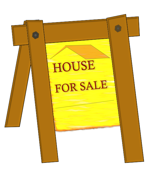 House For Sale Clip Art At Vector Clip Art Online