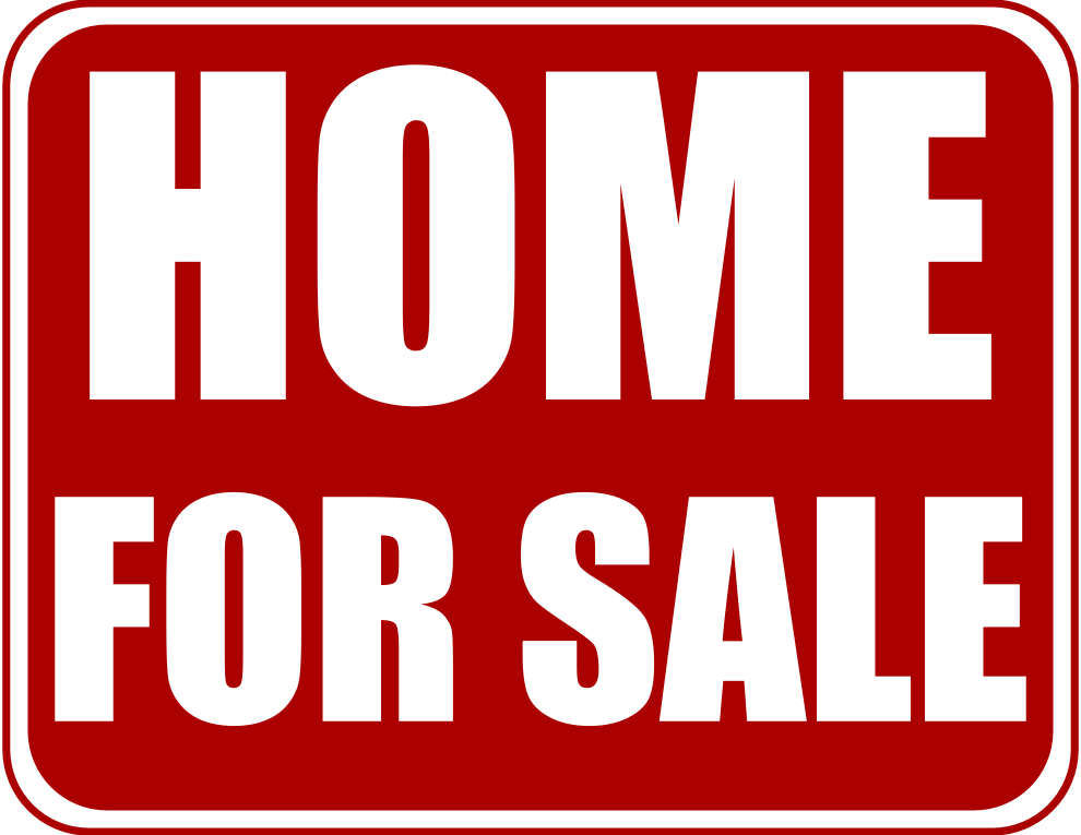 House For Sale Sign Clip Art