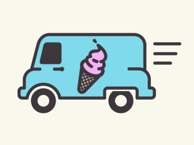 Ice Cream Truck Clip Art