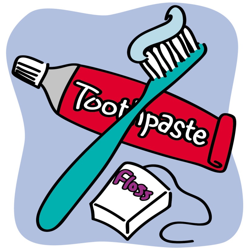 Images For Kid Toothbrush And Toothpaste Clipart