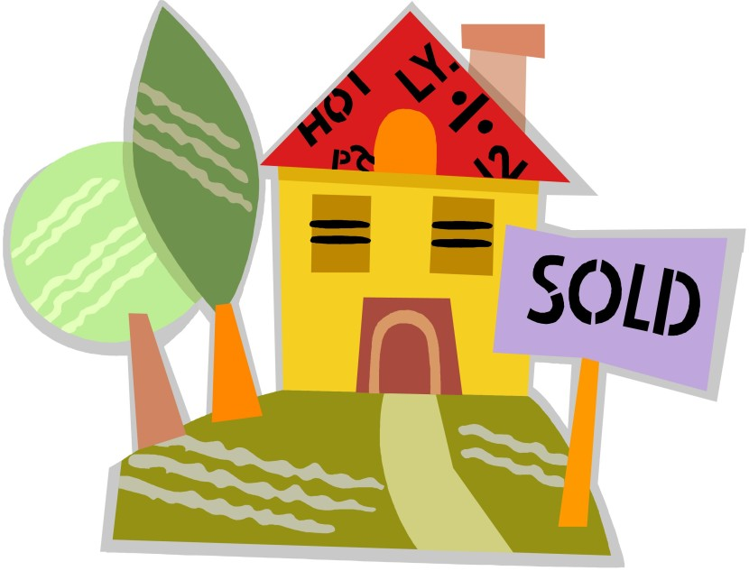 free clipart house for sale - photo #42