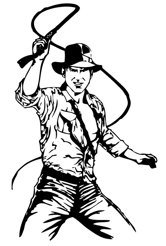 Indiana Jones Clipart