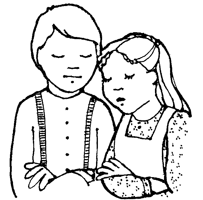 Children Praying Clipart Clipartion Com