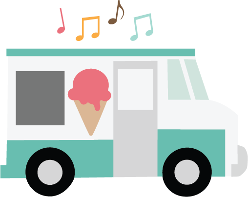 Large Ice Cream Truck Png Ice Cream Truck Clip Art