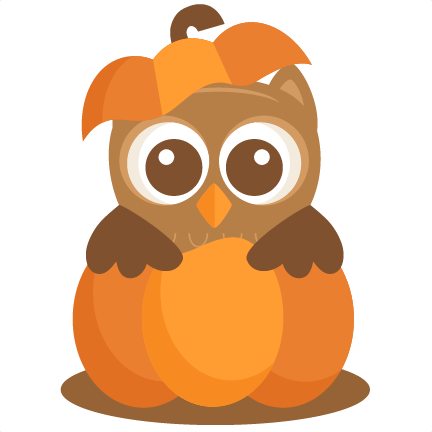 Large Owl In Pumpkin2 Png