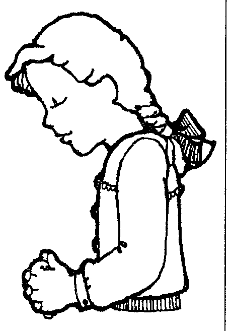 Lds Children Praying Clipart Free
