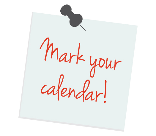 Clipart Calendar Graphic : Mark your calendar clip art clipartion