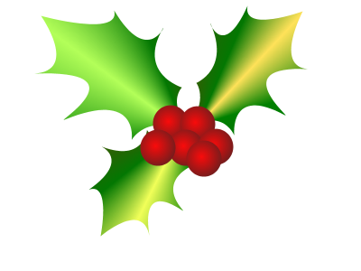 New christmas Holly Png