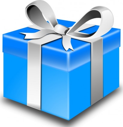 Open Birthday Present Clipart Free