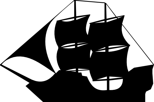 Pirate Clipart Black And White Free