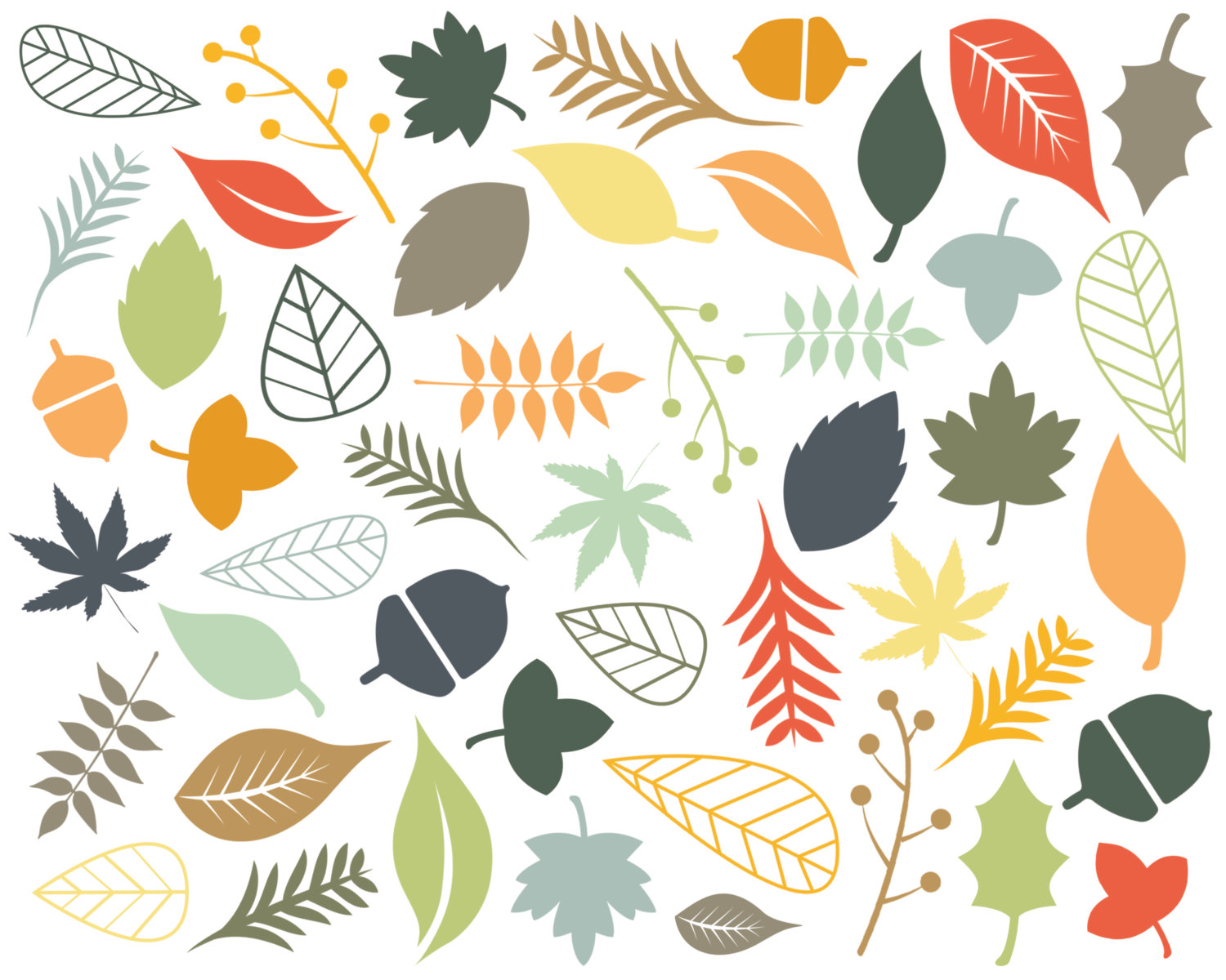 Best Fall Leaves Clip Art #22639 - Clipartion.com