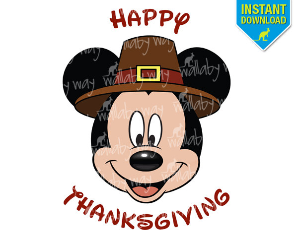Popular Items For Thanksgiving Mickey