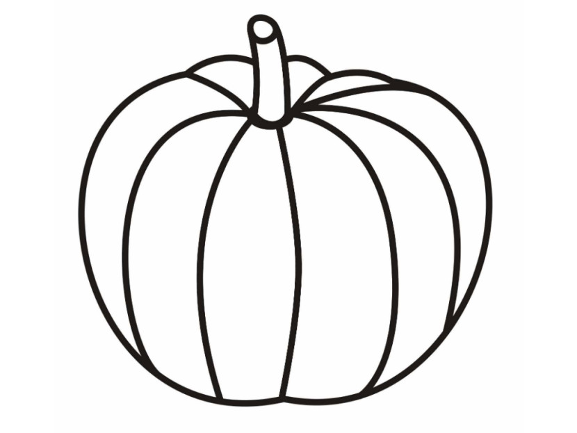 Pumpkin Outline Printable - Clipartion.com