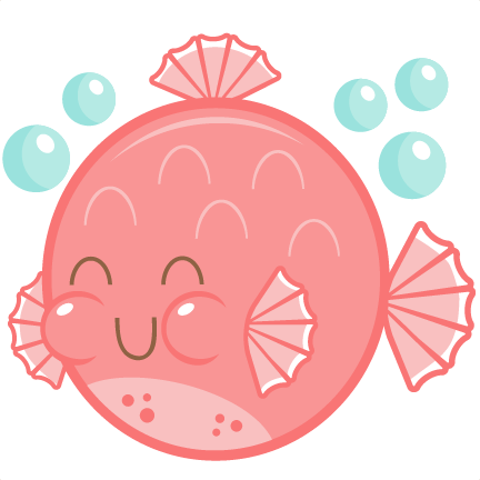Puffer fish png clipart