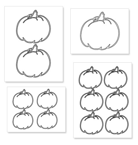 small halloween pumpkin templates - pumpkin outline printable