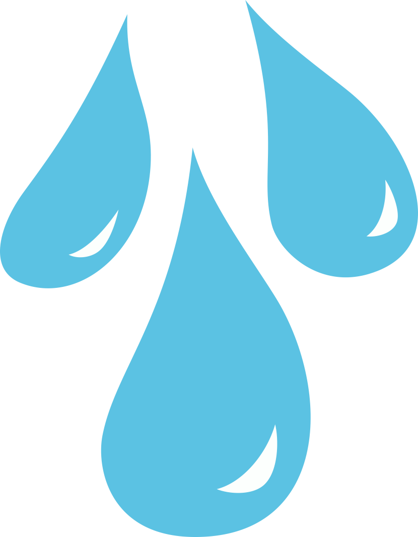 Raindrop Clip Art - Clipartion.com White Design Png
