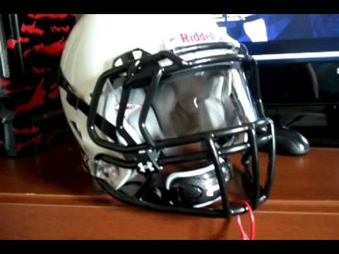 Riddell Revolution Speed With Visor Youtube