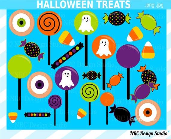 Sale Halloween Clip Art Halloween Candy Clip Art Cute