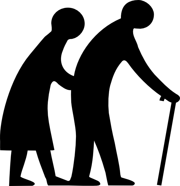 Seniors Crossing Clip Art At Vector Clip Art Online
