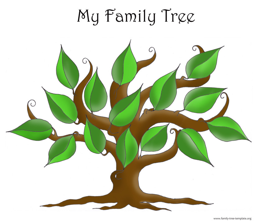 Simple family tree template search results calendar 2015 for Plain family tree template