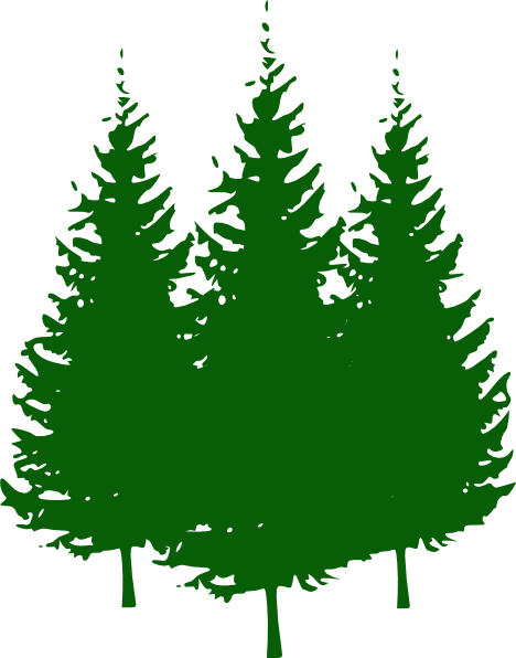 Simple Pine Tree Clipart Free