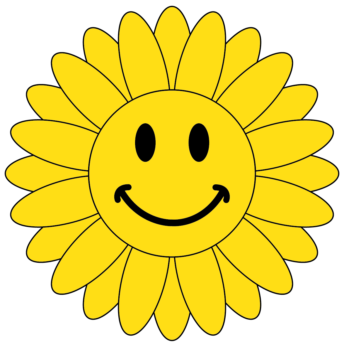 Smiley Face Flower 23604