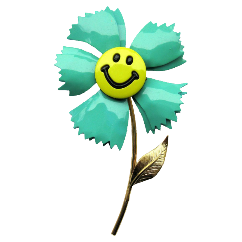 Smiley Flower Face