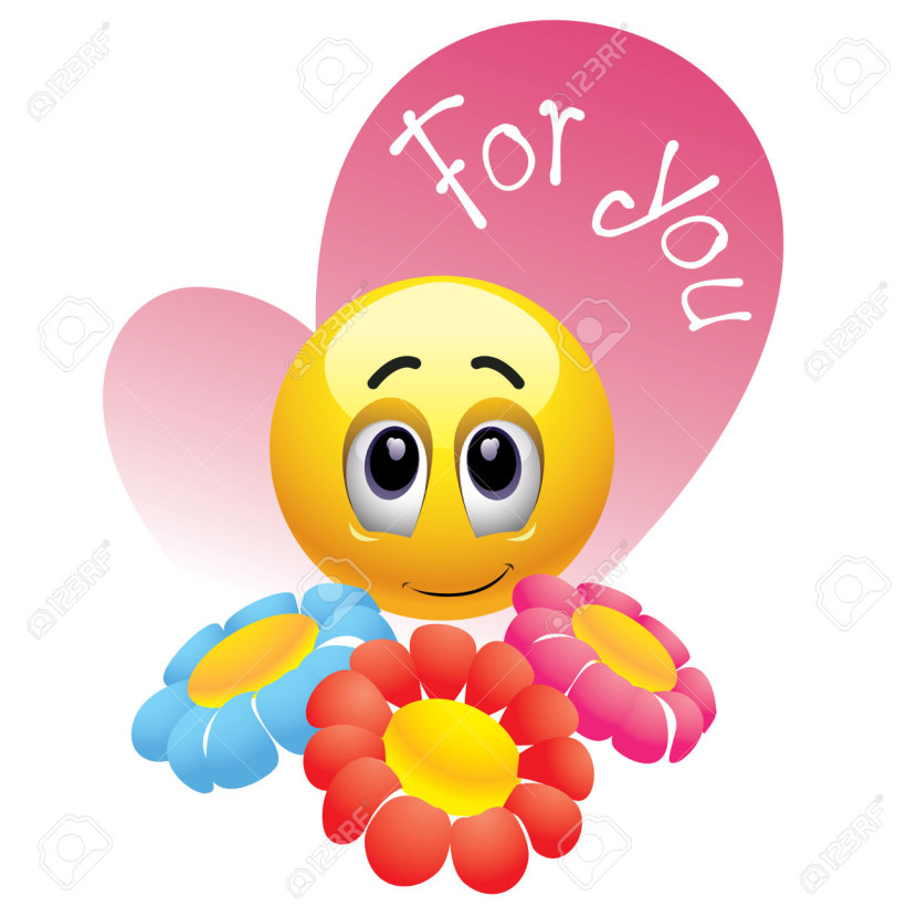best smiley face flower 23608 clipartion com Angry Face Clip Art Black and White smiley face clipart black and white