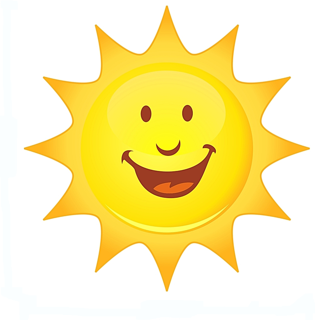 Best Smiling Sun Images #23786 - Clipartion.com