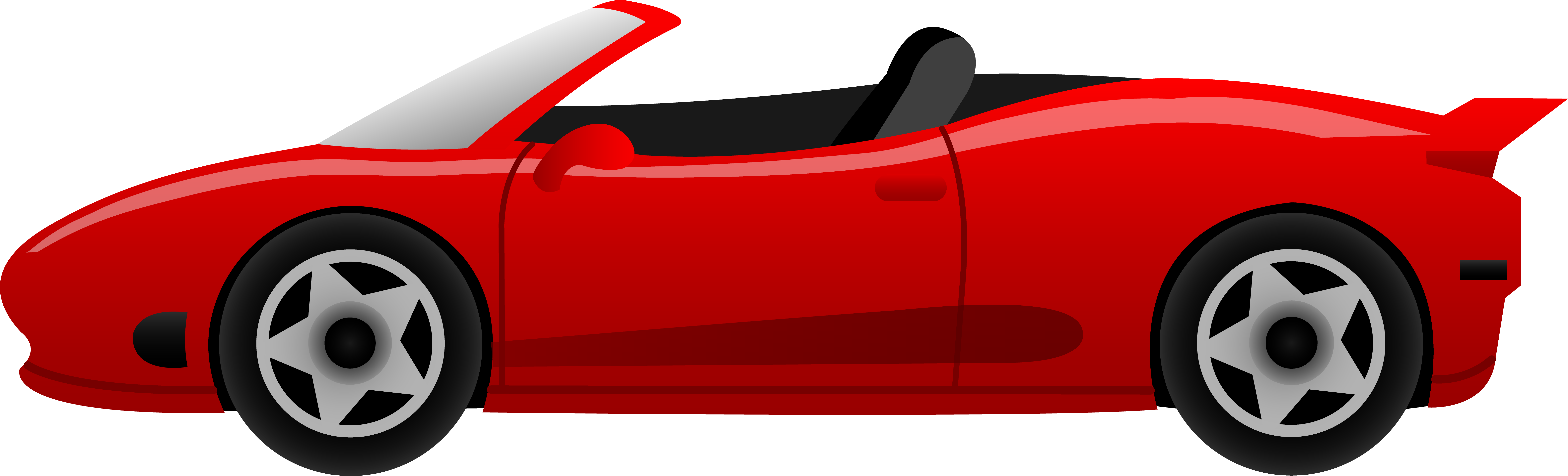 Sports Car Clipart Side View Free