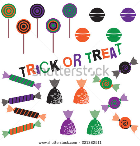 Stock Images Similar To Id Candy Corn Clip Art Set