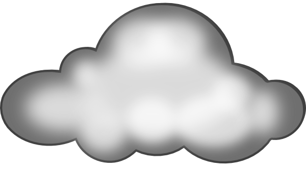 Storm Cloud Clipart