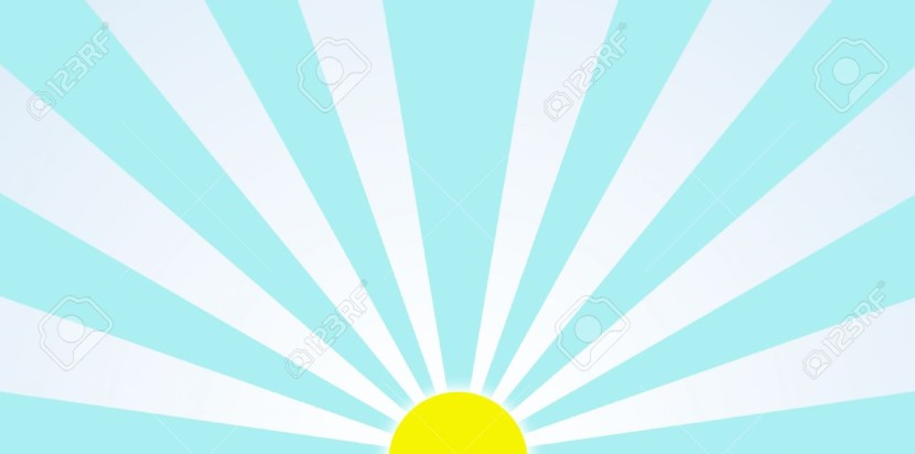 Sunrise In The Morning Generic Clipart Picture And
