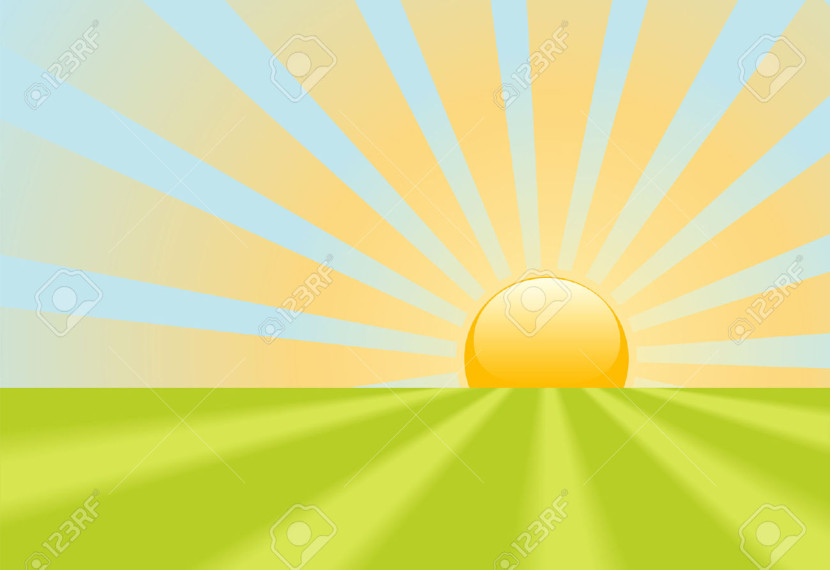Sunrise Sky Cliparts Stock Vector And Free Sunrise Sky