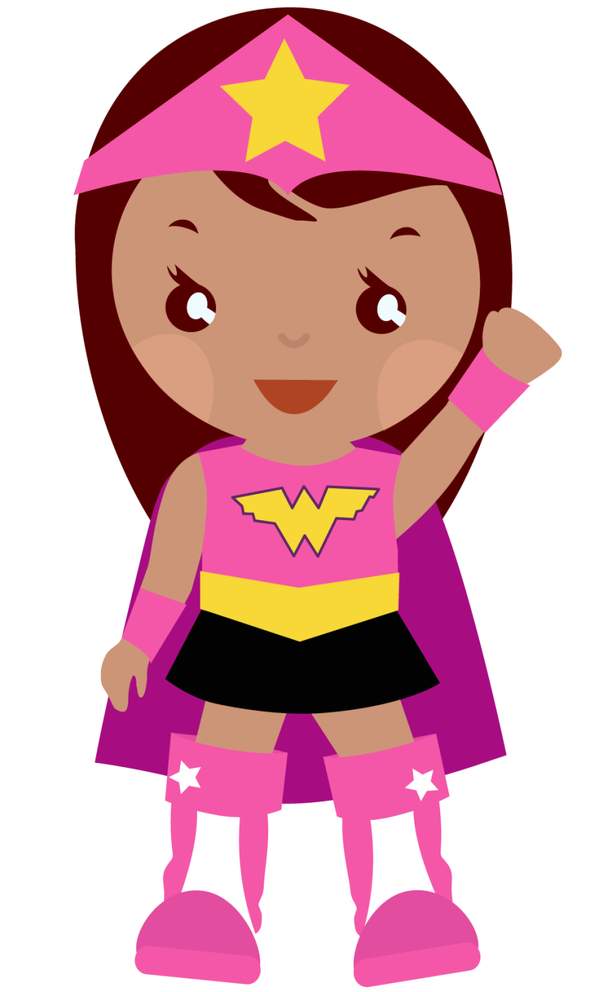 Superwoman Clip Art