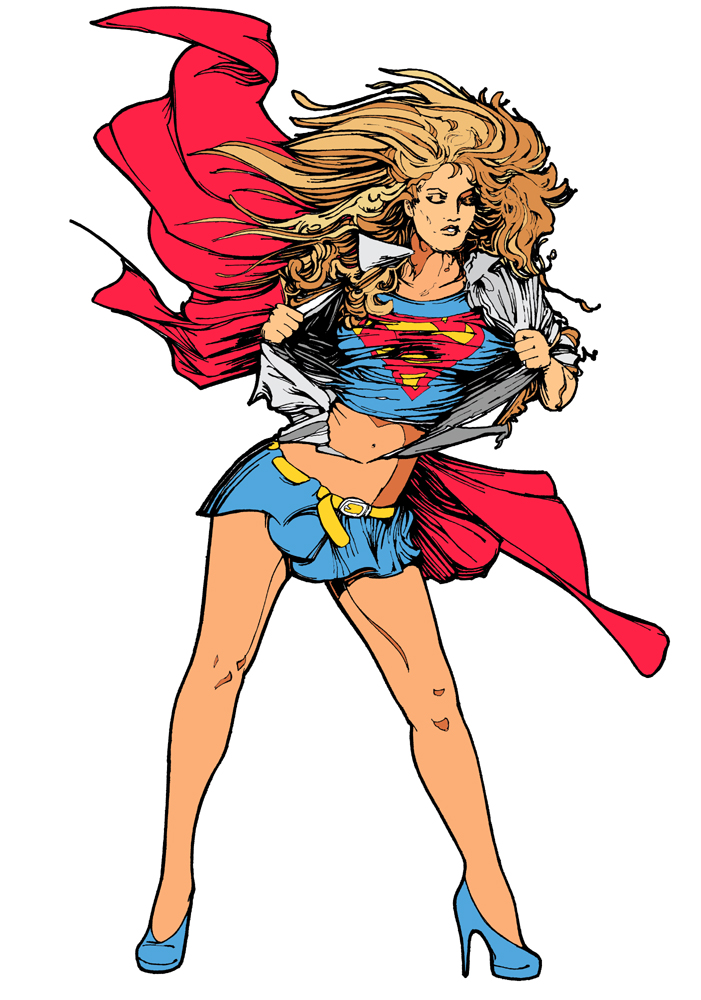 Superwoman Clipart