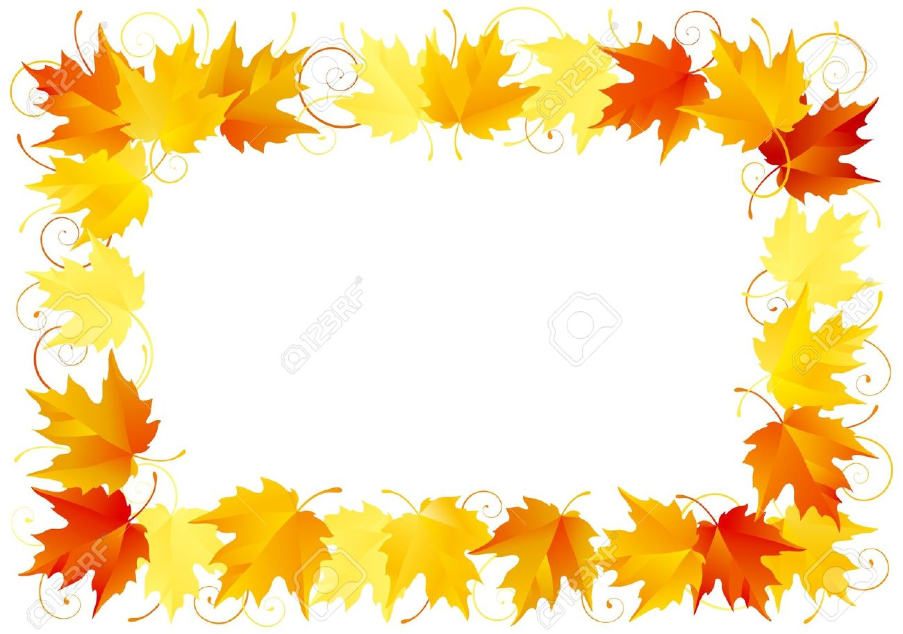 Thanksgiving Border Stock Illustrations Cliparts And Free