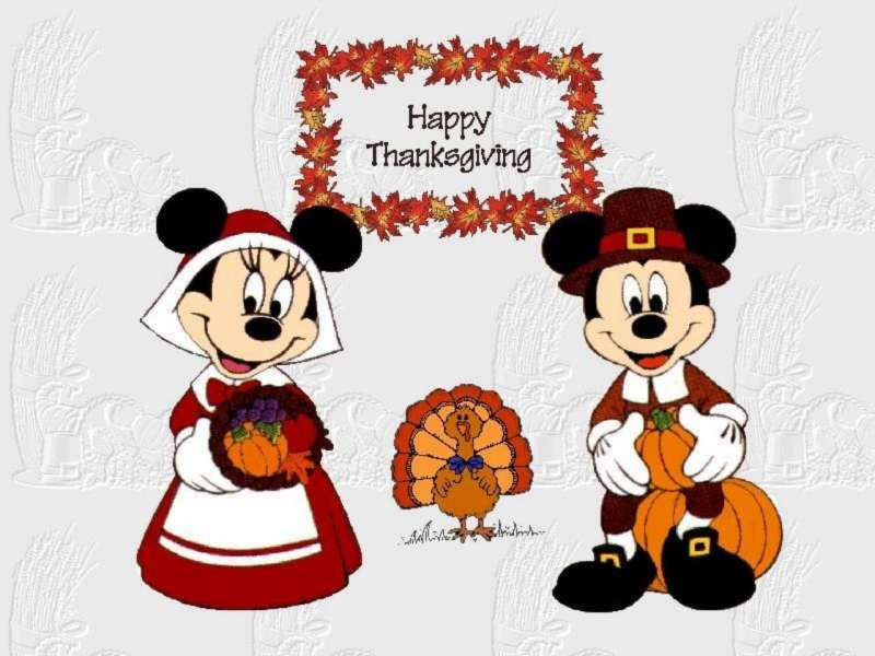 Thanksgiving Mickey Mouse 4