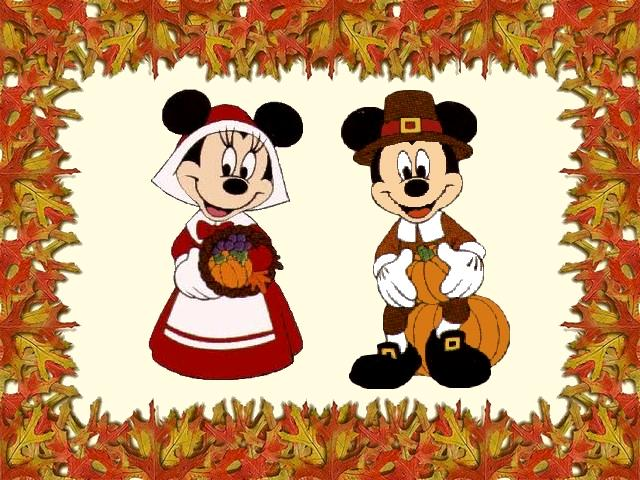 Mickey Mouse Thanksgiving Clipart Clipartion Com