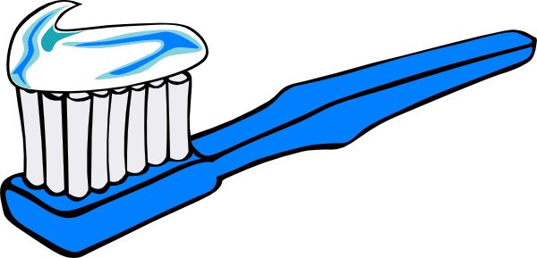 Toothbrush Clipart Black And White Free Clipart