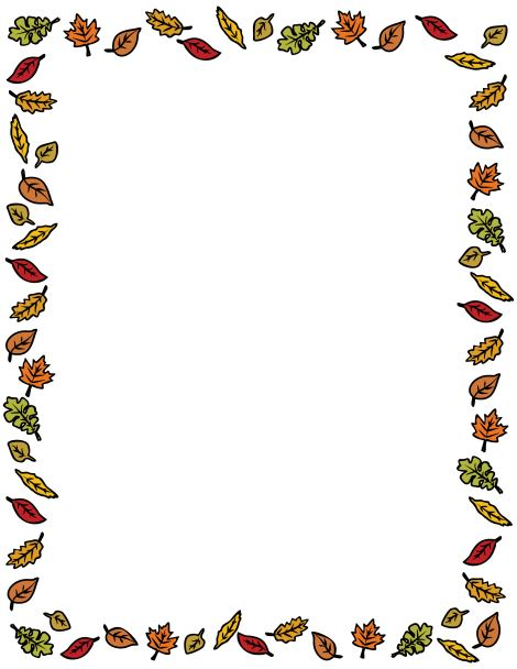 Clip Thanksgiving art borders pictures forecasting dress in spring in 2019