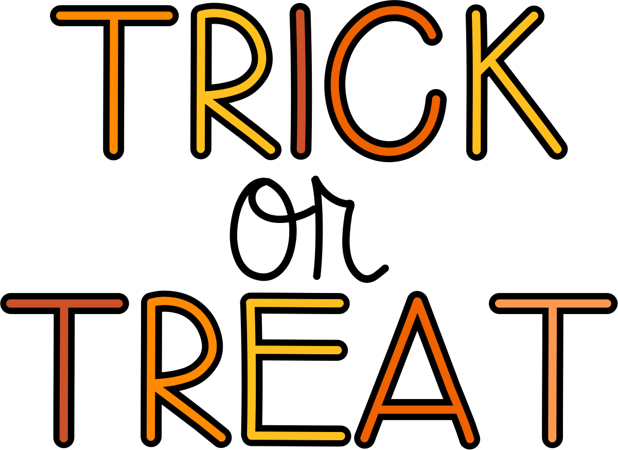 Trick Or Treat Clipart Domitian Org