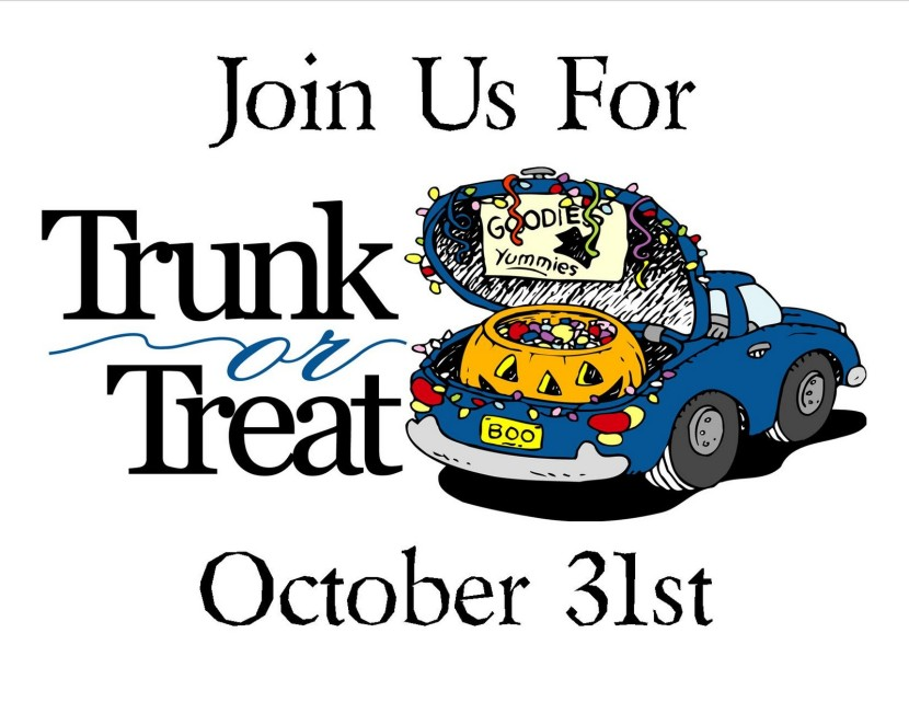 Trunk Or Treat Clip Art