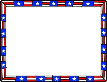 Veterans Day Clip Art Borders 1