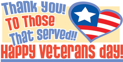 Veterans Day Clip Art Cute